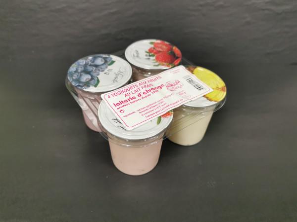 Yaourt aromatisé vanille laiterie d'Elvange