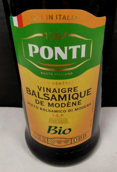 Vinaigre Balsamique de Modène bio I.G.P