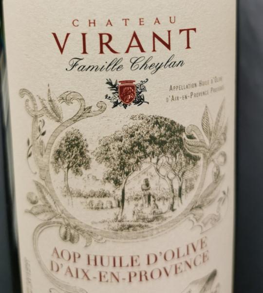 Huile d'Olive Vierge Extra, moulin de Château Virant A.O.P