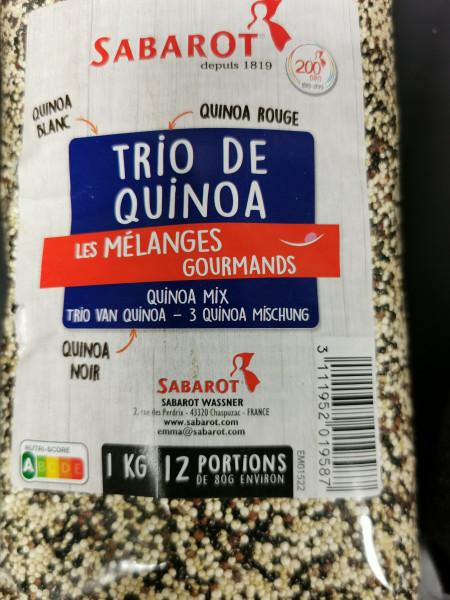 Quinoa trio