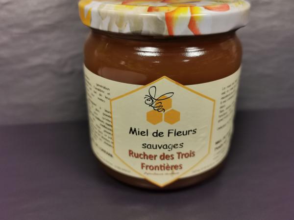 miel de fleurs sauvages ( pot de 500g )