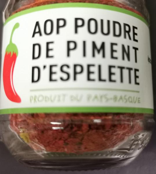 Poudre de Piment D'Espelette AOP